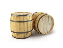Algunos barriles. Fotos de archivo