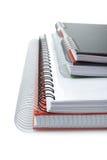 Algunos cuadernos Foto de archivo libre de regalías