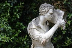 Algunos detalles de los jardines de Boboli en Florencia, Italia imagenes de archivo