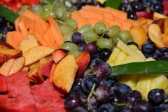 Algunos pedazos de frutas Fotografía de archivo