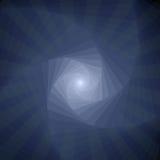 Algunos poliedros azules Imagen de archivo