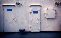 Algunos revestimiento marino interior scean Imagen de archivo libre de regalías