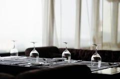 Algunos vidrios de vino Fotografía de archivo