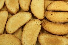 Alguns brindaram o pão Imagem de Stock