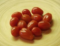 Alguns data-tomates fotografia de stock