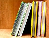 Alguns livros Imagem de Stock