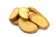 Alguns pães ralados Foto de Stock