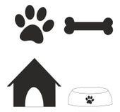 Alguns símbolos do cão Imagem de Stock Royalty Free