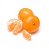 Alguns tangerines Fotos de Stock Royalty Free