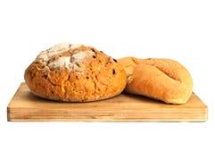 Alguns tipos do pão fresco Imagens de Stock