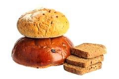 Alguns tipos do pão fresco Fotos de Stock