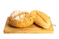 Alguns tipos do pão fresco Fotografia de Stock