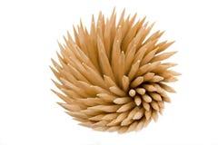 Alguns toothpicks Foto de Stock