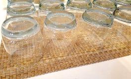 Alguns vidros da água Imagens de Stock