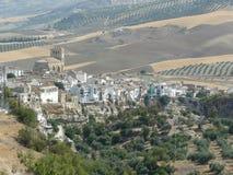 Alhama de Granada, Granada, Spanien Fotografering för Bildbyråer