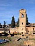 Alhambra à Grenade Photographie stock libre de droits