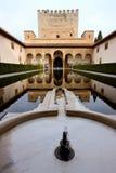 alhambra Γρανάδα παλάτι Ισπανία Στοκ Εικόνες
