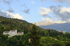 Alhambra - Γρανάδα - Ισπανία νότια Ισπανία Στοκ Εικόνα