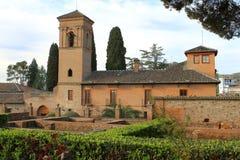 Alhambra, Γρανάδα Ισπανία Στοκ εικόνα με δικαίωμα ελεύθερης χρήσης