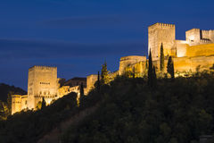 alhambra Γρανάδα Ισπανία Στοκ Εικόνα