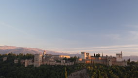 Alhambra Γρανάδα απόθεμα βίντεο