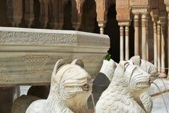 alhambra Γρανάδα Στοκ Εικόνα