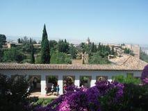 alhambra Γρανάδα Στοκ φωτογραφίες με δικαίωμα ελεύθερης χρήσης