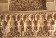 Alhambra λεπτομέρειες παλατιών στη Γρανάδα, Ισπανία Στοκ φωτογραφίες με δικαίωμα ελεύθερης χρήσης