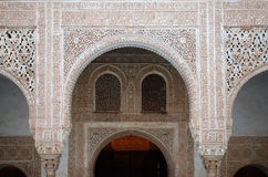alhambra λεπτομέρειες στοκ εικόνα