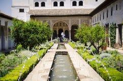 Alhambra παλάτι, Γρανάδα, Ισπανία Στοκ Φωτογραφίες