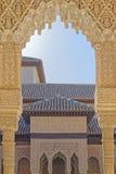 Alhambra παλάτι, Ισπανία Στοκ εικόνα με δικαίωμα ελεύθερης χρήσης