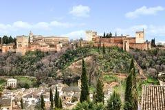 Alhambra Στοκ Εικόνα