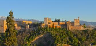 Alhambra παλάτι Στοκ Εικόνες