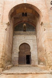 Alhambra πύλη δικαιοσύνης Στοκ Φωτογραφίες