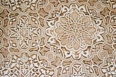 alhambra τέχνη ισλαμική Στοκ Εικόνες