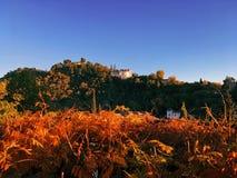 Alhambra της Γρανάδας το φθινόπωρο στοκ εικόνα