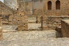 Alhambra φρούριο Στοκ εικόνα με δικαίωμα ελεύθερης χρήσης