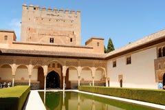 Alhambra в Гранада, Испании Стоковое Фото