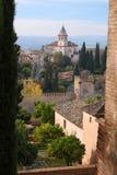alhambra Испания Стоковое фото RF