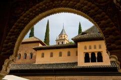 alhambra обрамил Стоковые Изображения RF