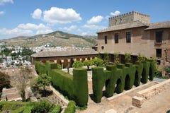 alhambra Royaltyfri Fotografi
