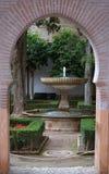 alhambra Royaltyfri Foto