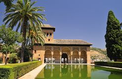 The Alhambra. Royalty Free Stock Photo