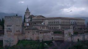 Alhambra απόθεμα βίντεο