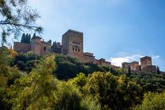 Alhambra imagen de archivo libre de regalías