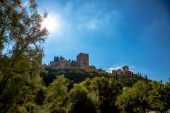 Alhambra foto de archivo libre de regalías