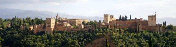 alhambra obraz royalty free