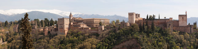 Alhambra Foto de Stock Royalty Free
