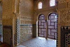 alhambra andalusia granada Испания Стоковая Фотография