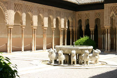 alhambra andalusia granada slott Arkivbild